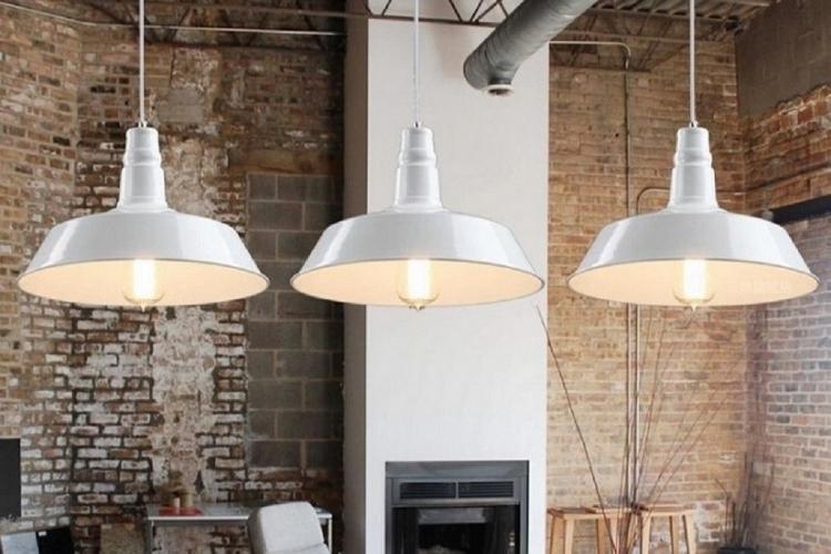 Plafoniere Soffitto Industriali : Lampada vintage in stile industriale da soffitto moderno di design