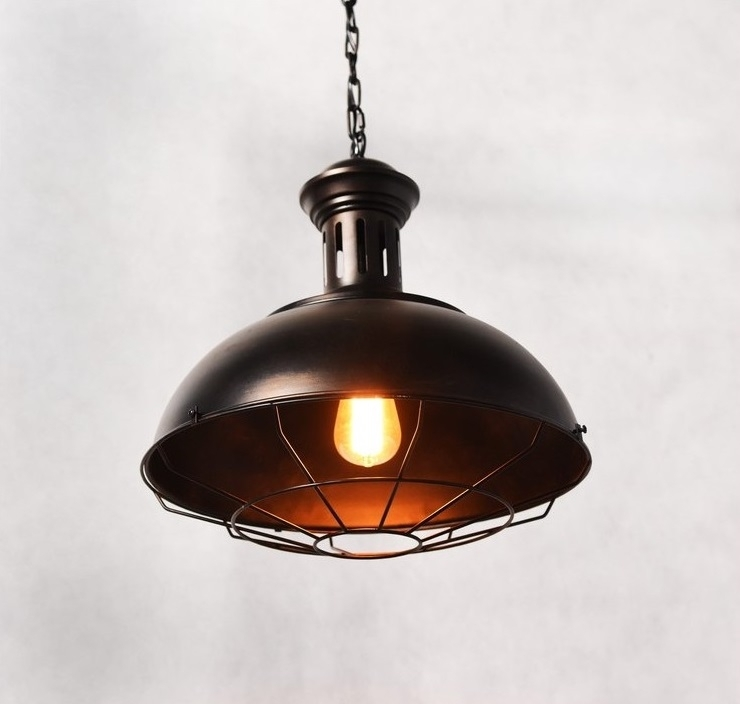 lampadario stile industriale : Lampadario stile industriale per gli amanti del vintage