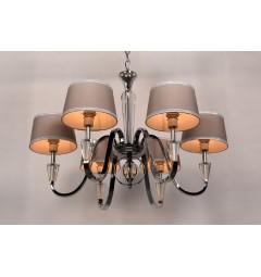 lampadari per sala con cristalli in stile classico
