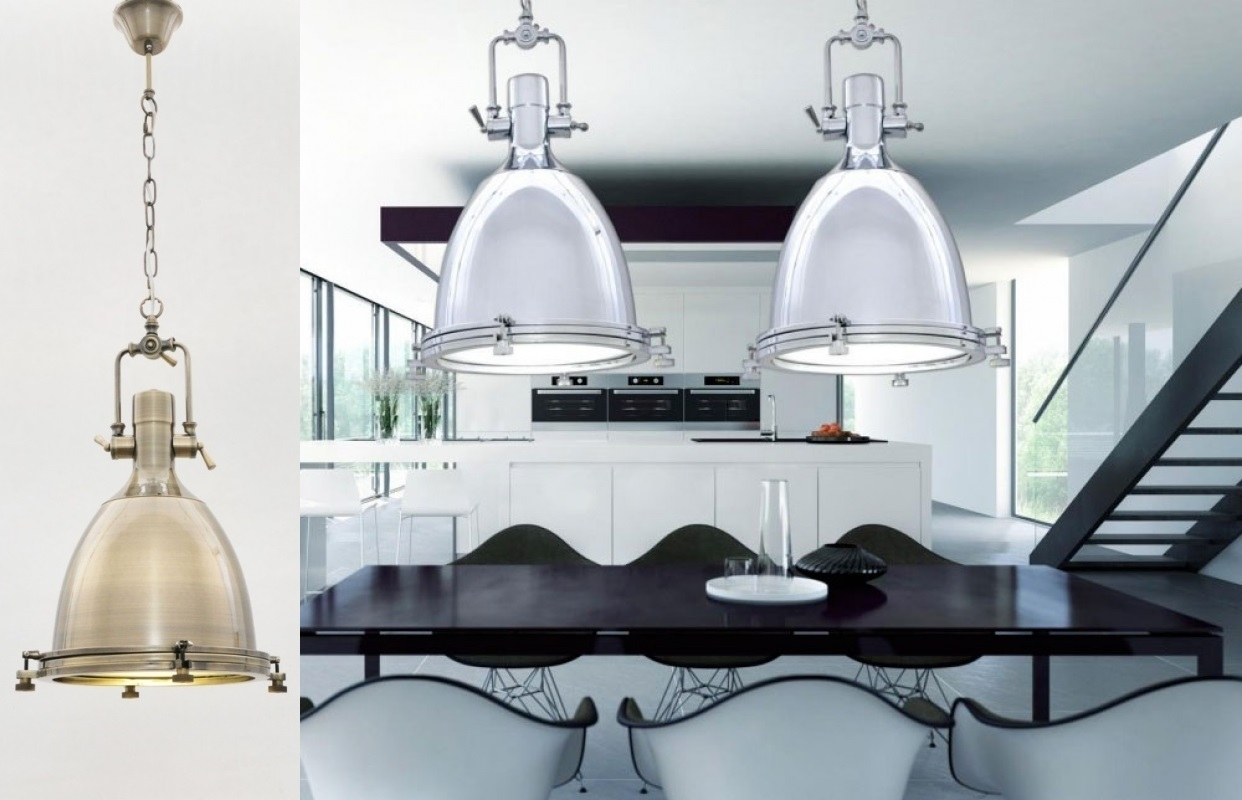 Lampadario stile industriale moderno ed economico in colore argento - Lampadario camera da letto economici ...