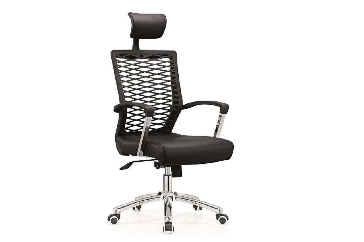 Poltrona ergonomica e economica da ufficio o studio nero for Poltrona economica