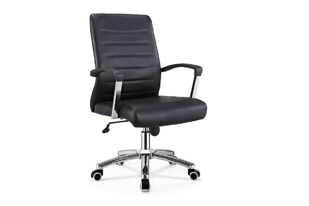 poltrona ergonomica e economica da ufficio studio nero in