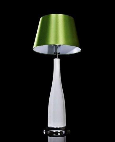 Lampada da comodino l 39 umetto vetro per tavolo abatjour moderno ldt 2210 verde ebay for Lampada da tavolo verde