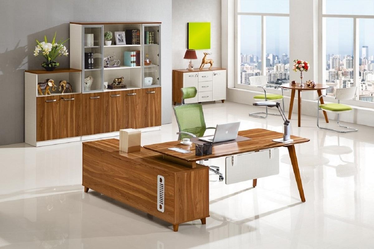 Set ufficio moderno manager da scrivania mobile di for Mobili ufficio como