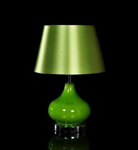 Lampada Verde in metallo e vetro per arredare con stile la tua camera