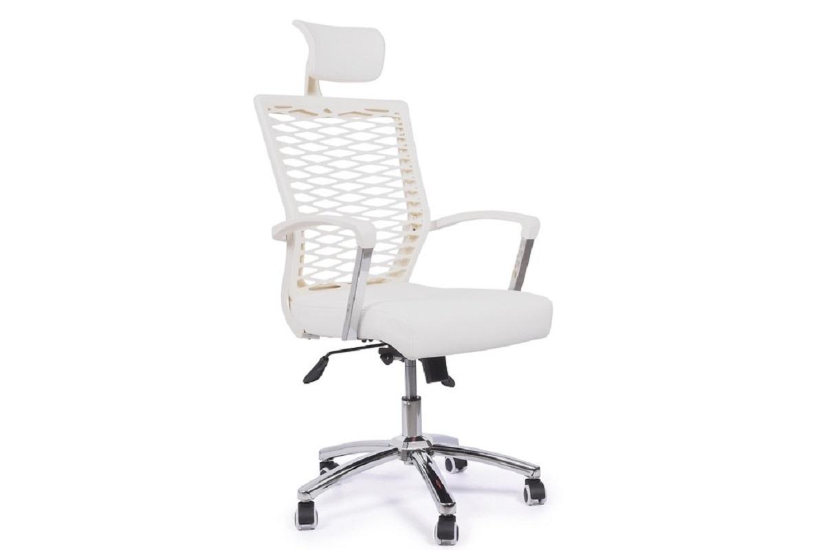 Poltrona ergonomica e economica da ufficio o studio bianco for Ufficio bianco e blu