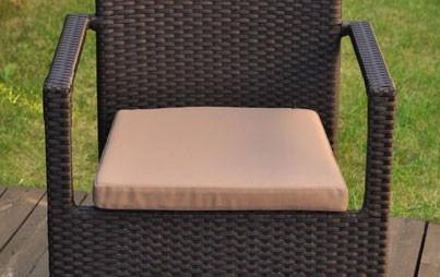 Cuscini X Sedie Da Giardino.Cuscino Per Sedie Da Esterno Quadrati Sfoderabili
