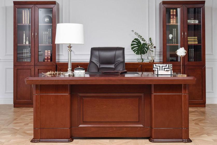 scrivania da notaio elegante