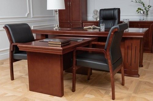 Arredo studio legale classico for Mobili studio legale
