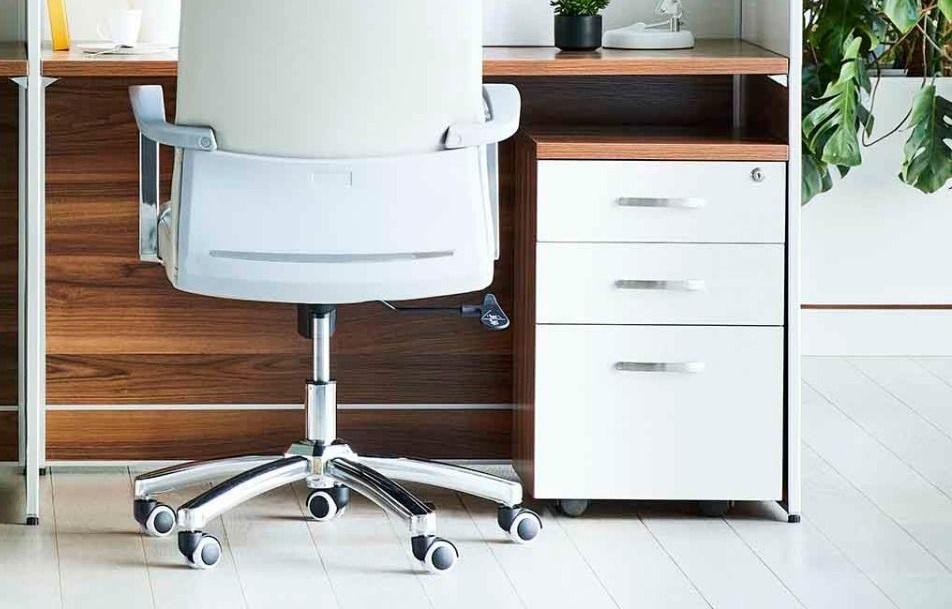 Mobiletti da ufficio moderno e accessori