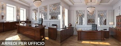 Mobili per ufficio stile classico e moderno esclusivi for Arredamento per ufficio moderno