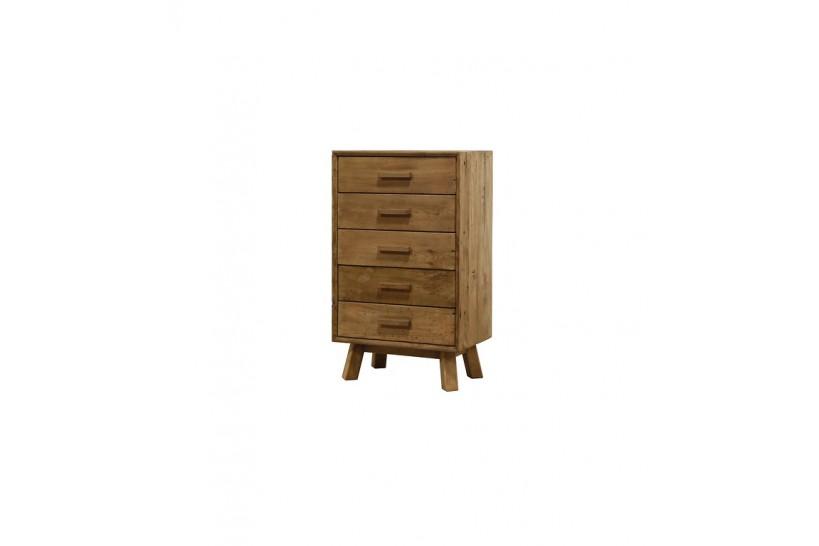 cassettiera legno invecchiato