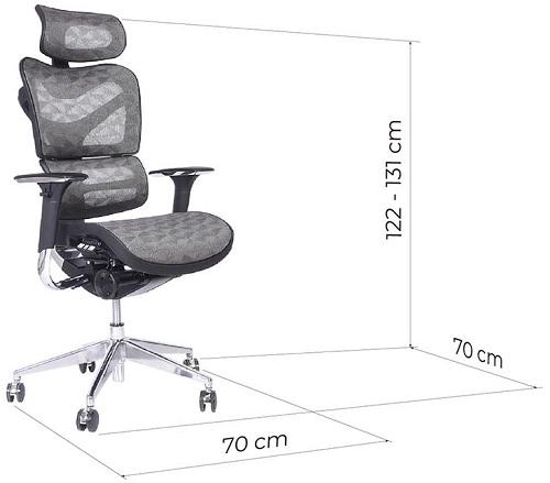 sedie ergonomiche dimensioni