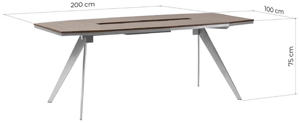 dimensioni tavolo riunioni ufficio
