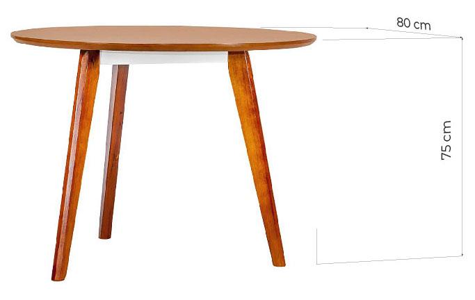 tavolo tondo riunione dimensioni