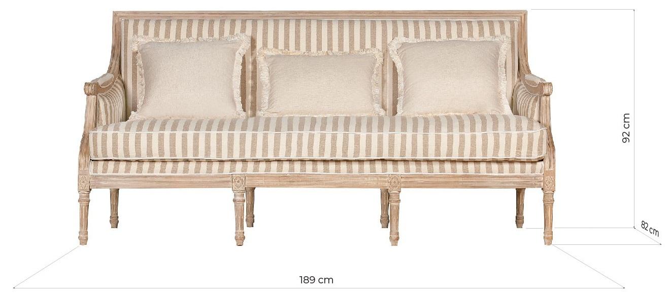 divani provenzali dimensioni