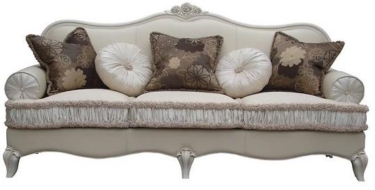divano tre posti legno e sofà