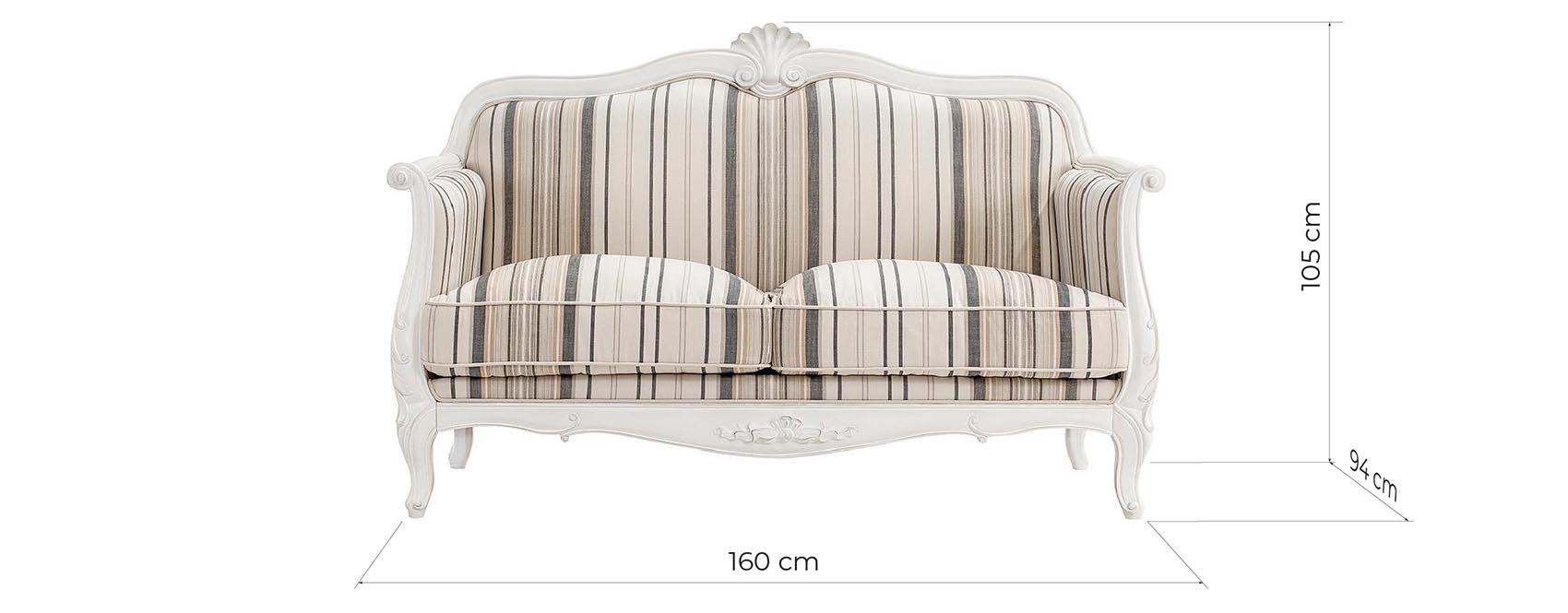 divani in legno country shabby