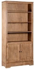 libreria in legno decapato