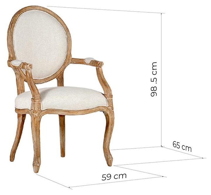 sedie di legno shabby chic misure