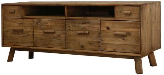 mobile porta tv in legno massello