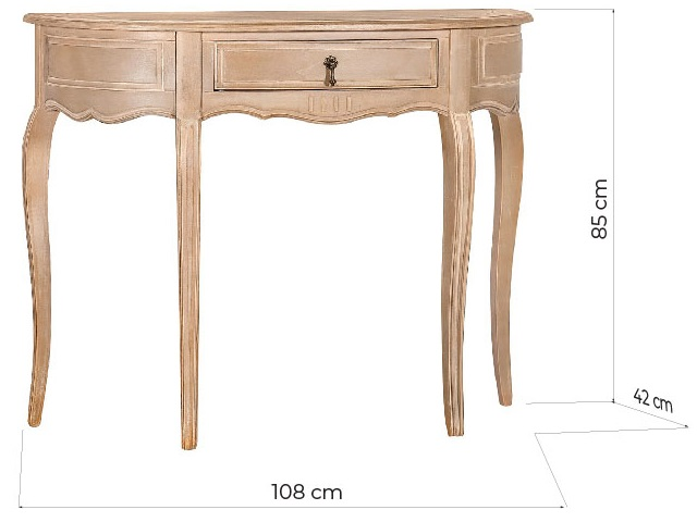 camere shabby consolle ingresso