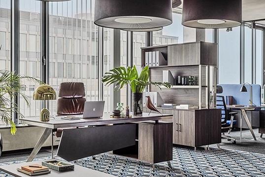 mobili ufficio design legno