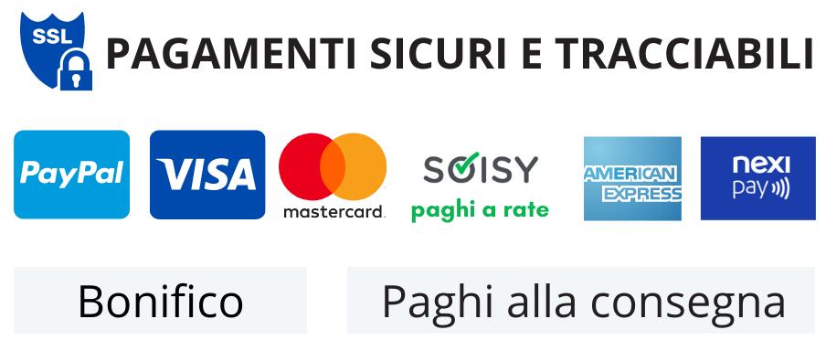 metodi di pagamento prodotto Arrediorg.it
