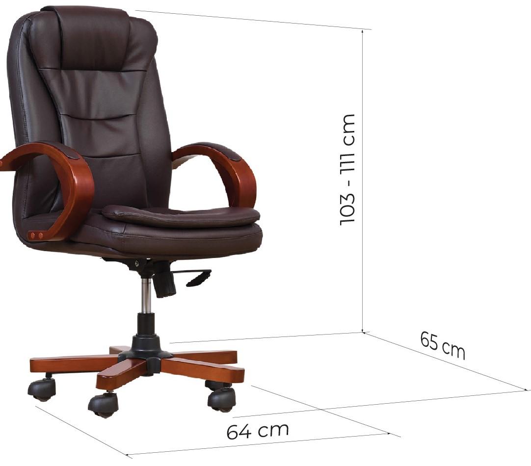 sedia girevole con rotelle per ufficio dimensioni
