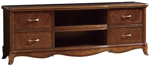 mobile tv legno classico elegante