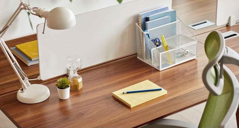 scrivania isola 4 posti