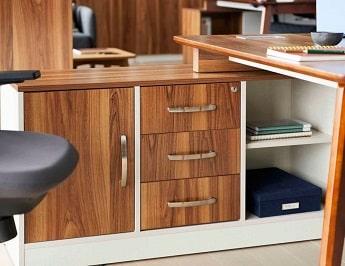 cassettiera scrivania moderna