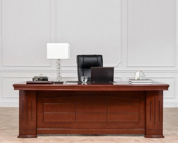scrivania classica legno