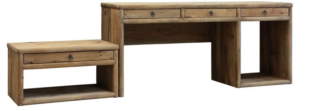 scrivania legno nordica chiara