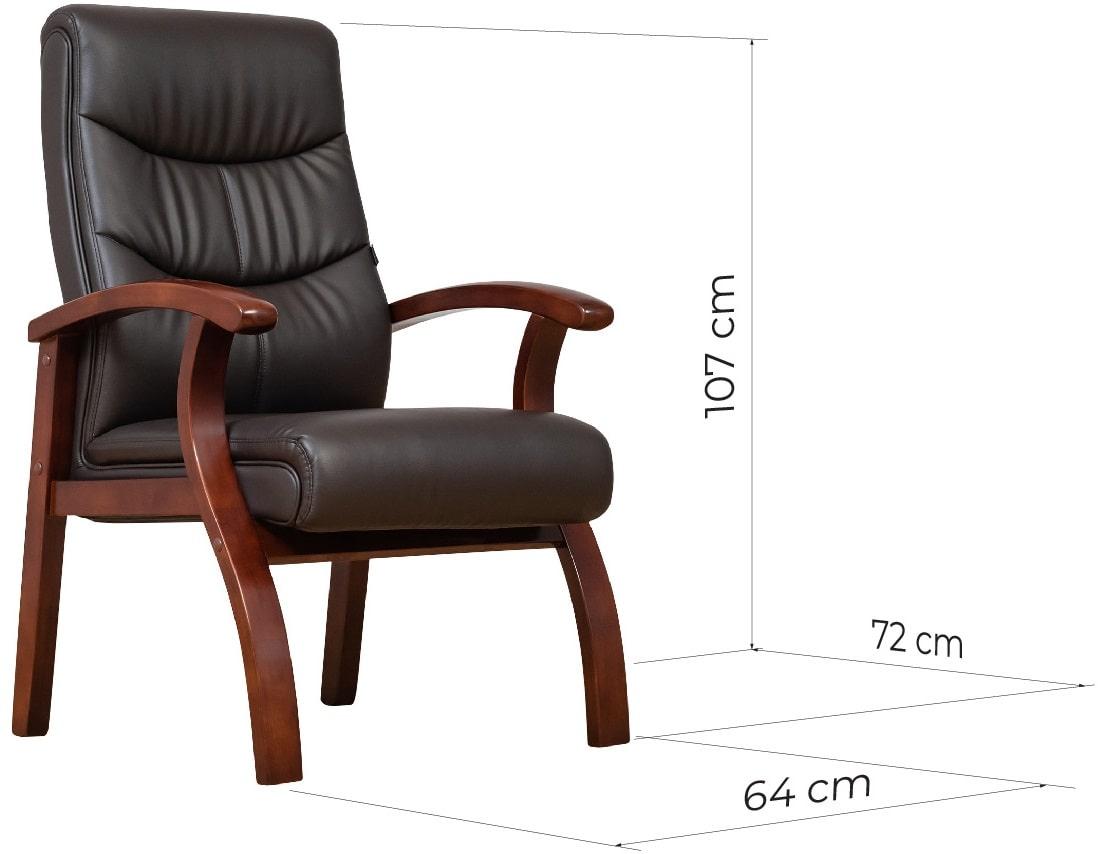 sedia ufficio 4 gambe