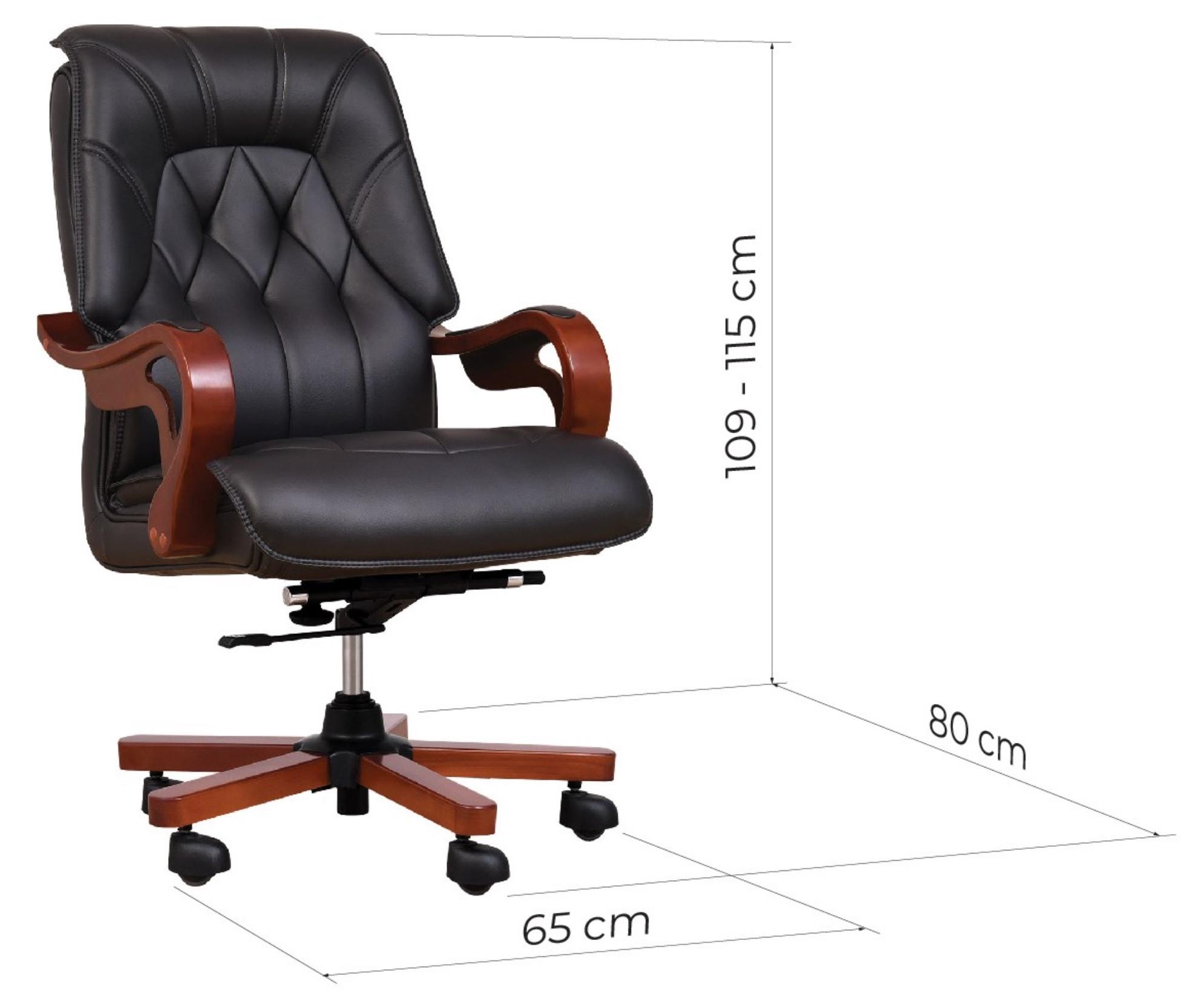 larghezza sedia ufficio