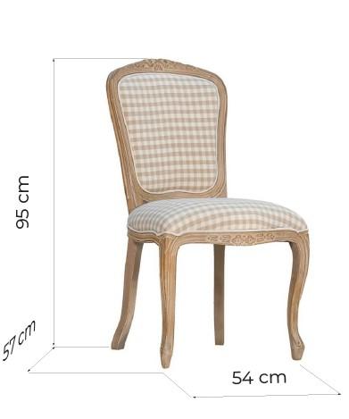 sedie shabby legno decapato
