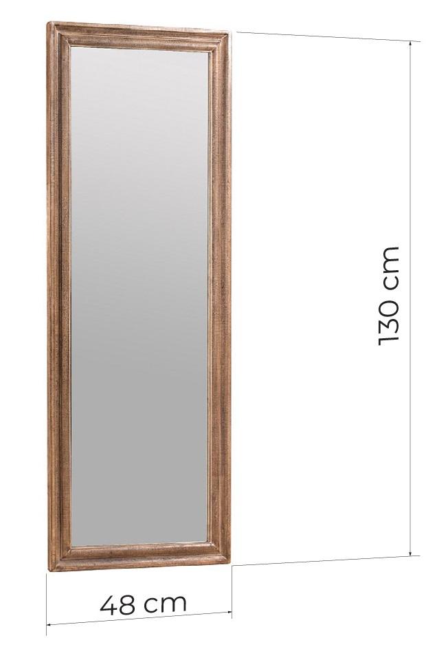 specchio da ingresso legno rettangolare
