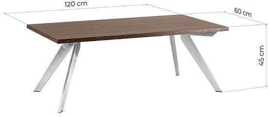 tavolo sala d'aspetto dimensioni