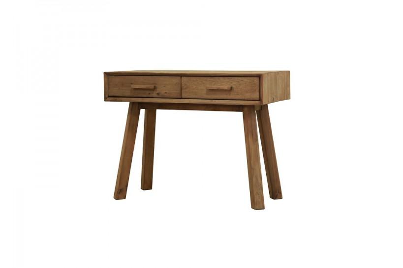 consolle legno con cassetti