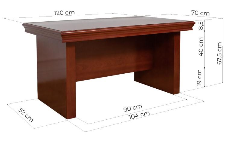 tavolo da mettere vicino alla scrivania in legno