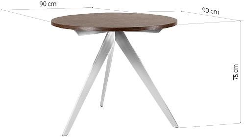 dimensioni tavolo tondo ufficio